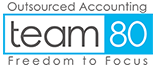 Team80 logo in blue and white against a transparent background.